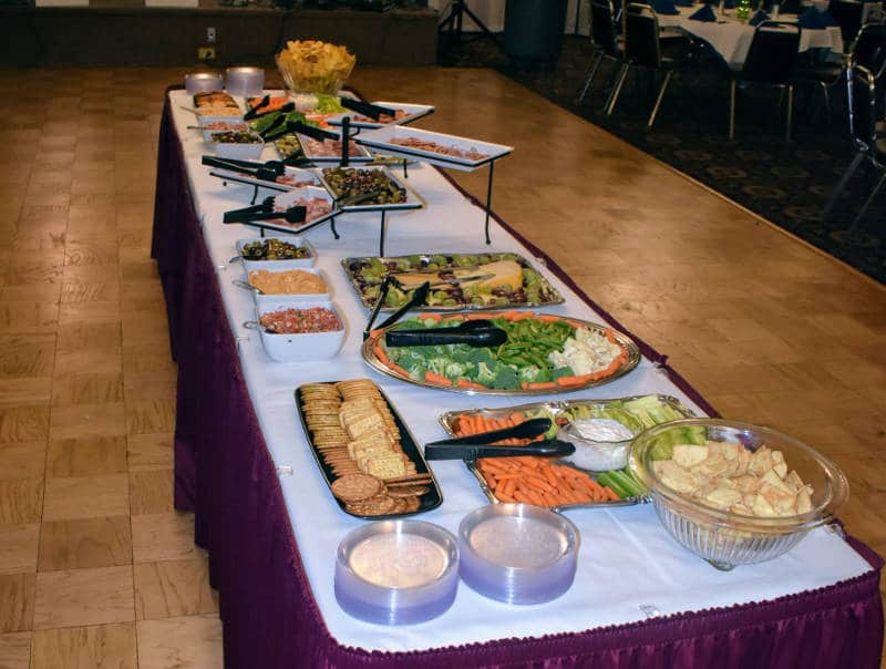 Rosensteel Hall - Columbian Ballroom Buffet