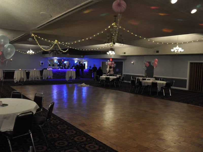 Rosensteel Hall - Columbian Ballroom Dance Floor